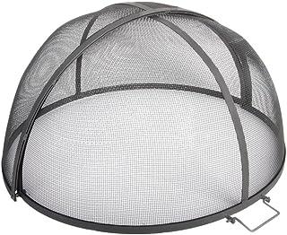 Esschert Design Feuerstellengitter, Funkenschutz, halbkugel, faltbar, ca. 60 cm x 60 cm x 33 cm