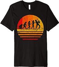 Evolution Saxophonist Gifts Saxophone Music Band Funny Humor Premium T-Shirt