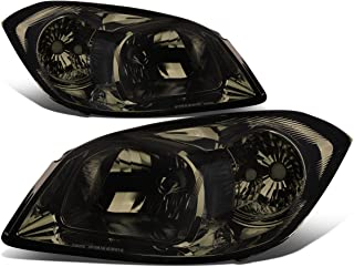 For Chevy Cobalt/Pontiac G5/Pursuit Pair of Smoked Lens Clear Corner OE Style Headlight
