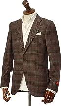 [ISAIA【イザイア】 ]シングルジャケット 89711 430 8R SAILOR セイラー ウール シルク グレンチェック ブラウン