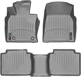 WeatherTech Custom Fit FloorLiner for Toyota Camry - 1st & 2nd Row (Grey)