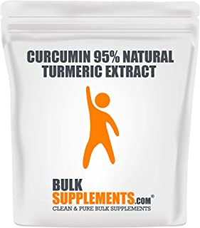 BulkSupplements Curcumin 95% Natural Turmeric Extract Powder (25 Grams)