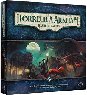 Horreur à Arkham : The Card Game – Asmodee – Board Game – Evolutionary Card Game – Cooperative Game