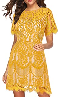 short sleeve spring dresses