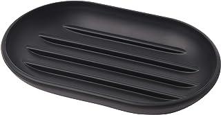 UMBRA Soap Dish Touch Porte-savon Touch en plastique moulé Noir Dimension 12.7x8.3x1.9cm