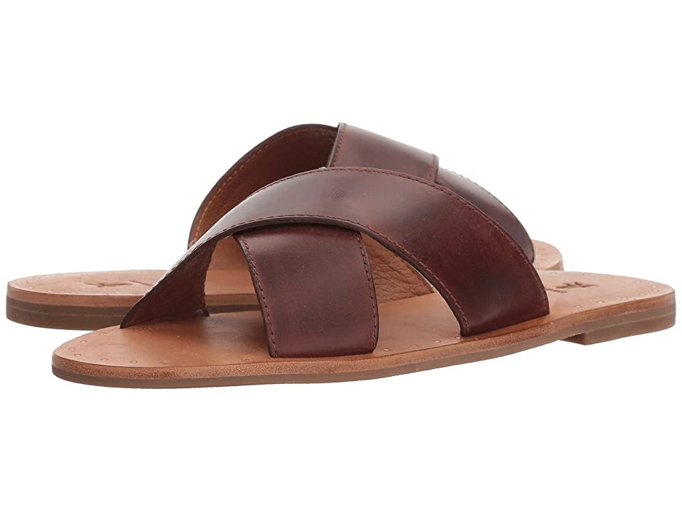 Frye Ally Crisscross (Redwood) Women