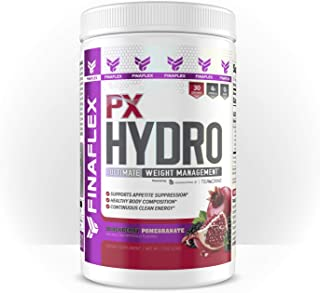 PX Hydro, Fat Burner Powder, Ultimate Weight Loss Formula, Support Appetite Suppression, Healthy Body Composition, Continuous Clean Energy and Metabolic Focus Support (BlackBerry Pomegranate)