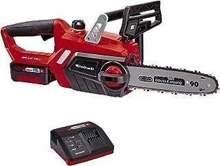comprar comparacion Einhell GE-LC 18 Li Kit - Motosierra a batería Power X-Change 18V (con batería de 3,0Ah y cargador), velocidad de corte: 4...