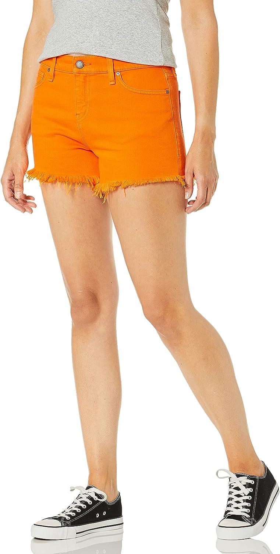 HUDSON Women's Gemma Midrise Cutoff Shorts