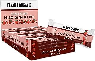 Planet Organic Paleo Granola Bar Super Berry - 30g