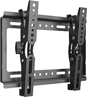 テレビ 壁掛け 金具 Himino 高品質14~40インチ モニター LCD LED液晶テレビ対応 上下調節式 VESA対応 最大250*210mm 耐荷重25kg(ネジ付属)