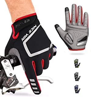 NICEWIN Cycling Gloves Motorcycle Bike Mountain- Road...