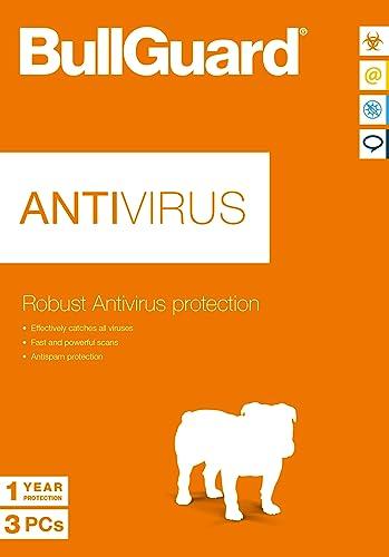 BullGuard Antivirus 2017 3 Utilisateur / 12 Mois [Téléchargement]