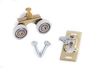 Johnson Hardware Sliding Door/Pocket Door Hanger Ball Bearing 1125 - 1 Inch Wheel, 200 lb Capacity