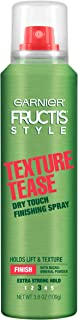 Garnier Fructis Style Texture Tease Dry Touch Finishing Spray, 3.8 Ounce (Packaging May Vary)
