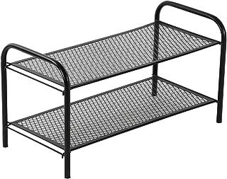 NHR Premium Collapsible Iron Shoe Stand, Foldable Metal Shoe Rack, Multipurpose Home Furniture, Kitchen Rack, Bathroom Tro...
