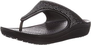 Crocs Women's Sloane Ombre Diamante Flip Platform Sandal