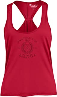 NCAA Womens Champion NCAA Women's Swing Silouette Racer Back Team Color Tank Top