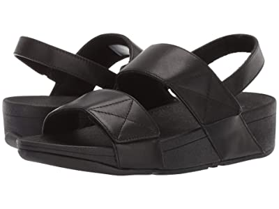 FitFlop Mina Back-Strap (All Black) Women