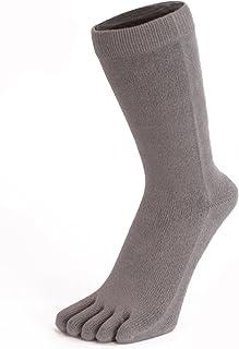 ESSENTIAL TOETOE Men Plain Toe Socks M 7.5-13.5, Green