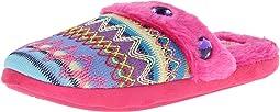Knit Print Slide Slippers