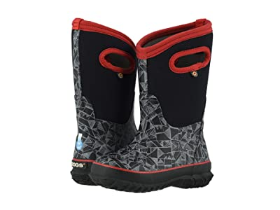 Bogs Kids Classic Maze Geo (Toddler/Little Kid/Big Kid) (Black Multi) Boys Shoes