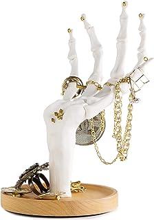 Suck UK Skeleton Hand Ring Holder & Dresser Organizer Holder | Jewelry Tree | Halloween Decorations | Unique Gifts | Earri...