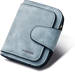 Wallet for Women Leather Clutch Bifold Small Compact Designer Ladies Credit Card Holder Organizer