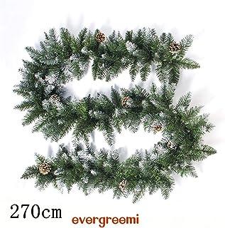 ghirlande di Decorazione di Natale Ghirlanda di Natale Weekend/&Lifecan Ghirlanda Natalizia per Camino Ghirlanda di Natale in Rattan,Ghirlanda di Natale per Porta