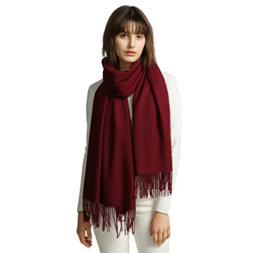 Women's Burgundy Scarves + FREE SHIPPING | Accessories