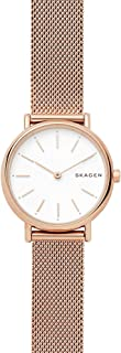 Skagen Signatur Women's White Dial Stainless Steel Analog Watch - SKW2694