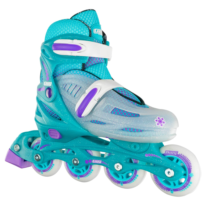 Crazy Skates Adjustable Beginner Rollerblades