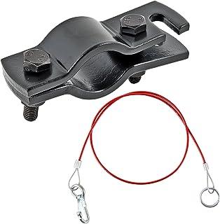 ProPlus Halter für Anhängerabreisseil Schwarz universal passend Hollandöse inkl Abreisseil