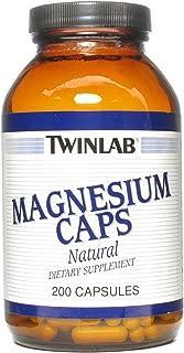 Twinlab Magnesium Capsule, 420 Milligram - 200 per Pack -- 3 Packs per Case.