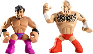 WWE Rumblers Tensai and Justin Gabriel Action Figure, 2-Pack