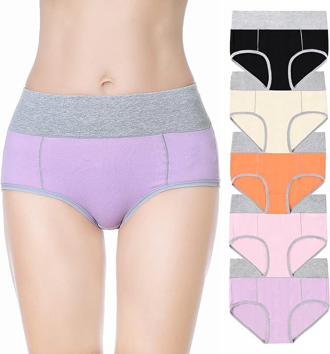 135 opinioni per FALARY Mutande Donna Cotone Pacco da 5 Vita Alta Slip Traspirante Confortevole