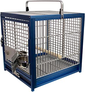 King's Cages ATS 1719 Aluminum Small Travel Carriers CAGE Bird Toy Toys