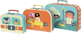 Vilac Vilac7711 Cardboard Suitcases Set (3-Piece)