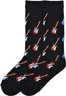 Men's Music to My Ears Novelty Crew Socks