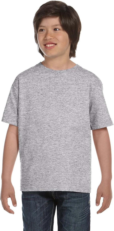 Product of Brand Gildan Youth DryBlend 56 oz, 50/50 T-Shirt - Sport Grey - XL - (Instant Savings of 5% & More)