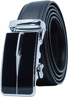 nouvelles photos b34ba a16e2 Amazon.fr : ceinture cuir sans boucle - YEHMAN / Ceintures ...