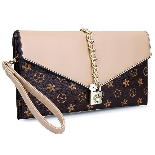 30e938578cf8 Women Oversized Flower Designer Evening Clutch Handbag Evening Bag Wristlet  with Lock