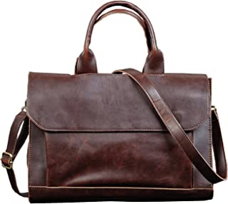 Men Bags, Berchirly PU Faux Leather Office Briefcase Handbag Cross Body Tote Bag
