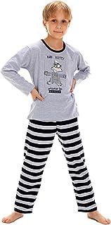 Cornette Pigiama Due Pezzi Bambino e Ragazzo CR-809-Pinguino