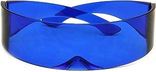 Futuristic Shield Sunglasses Monoblock Cyclops 100% UV400