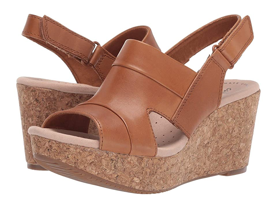 Clarks Annadel Ivory (Tan Leather) Women