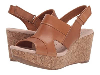 Clarks Annadel Ivory (Tan Leather) Women