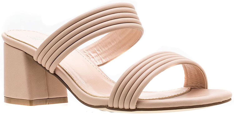 Gc shoes Women's Liz Double Strap Block Heeled Sandal