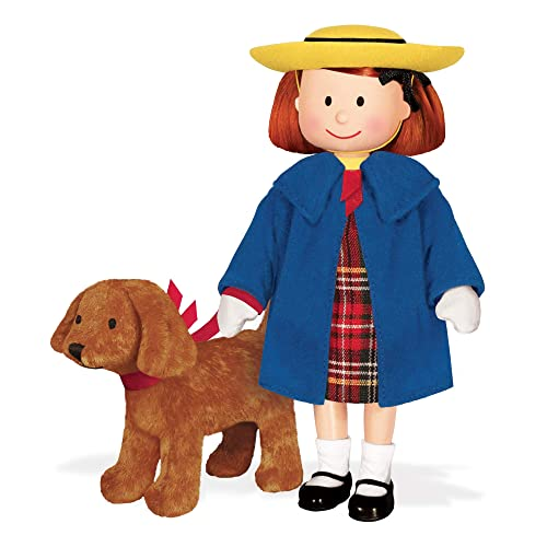 YOTTOY Madeline Collection   Madeline Poseable Doll and Genevieve Soft Toy in Take-Along Box