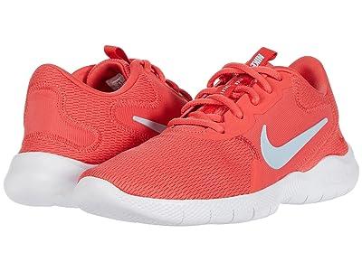 Nike Flex Experience Run 9 (Ember Glow/Hydrogen Blue/Fire Pink) Women